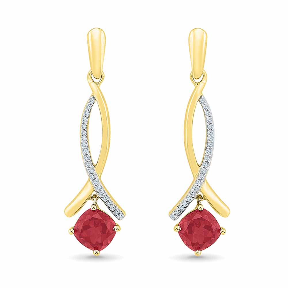 Passion Ruby Earrings