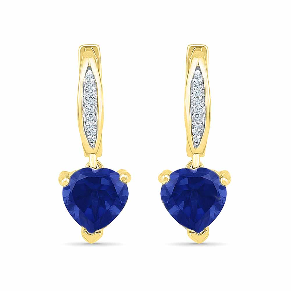 Acceptable Blue Sapphire Earrings