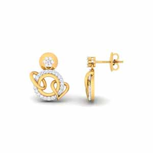 Diamond Earrings-0.55 Carat Diamond Earrings
