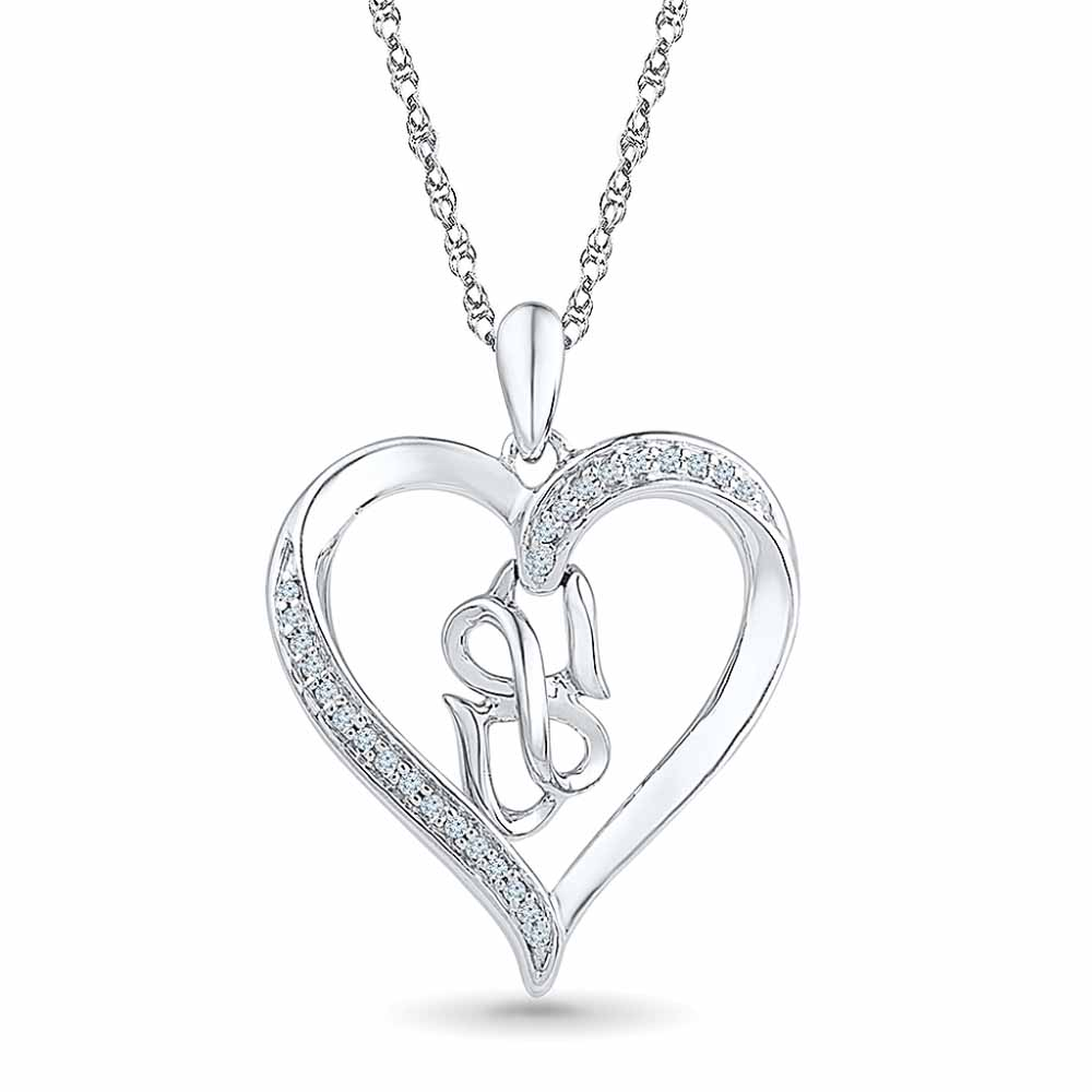 Ligth Up Love Diamond Pendent