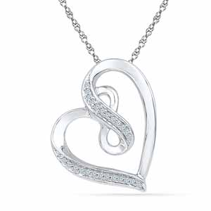 Diamond Pendants-Brilliant Diamond Pendant