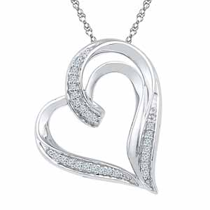 Diamond Pendants-Avantika Diamond Pendant