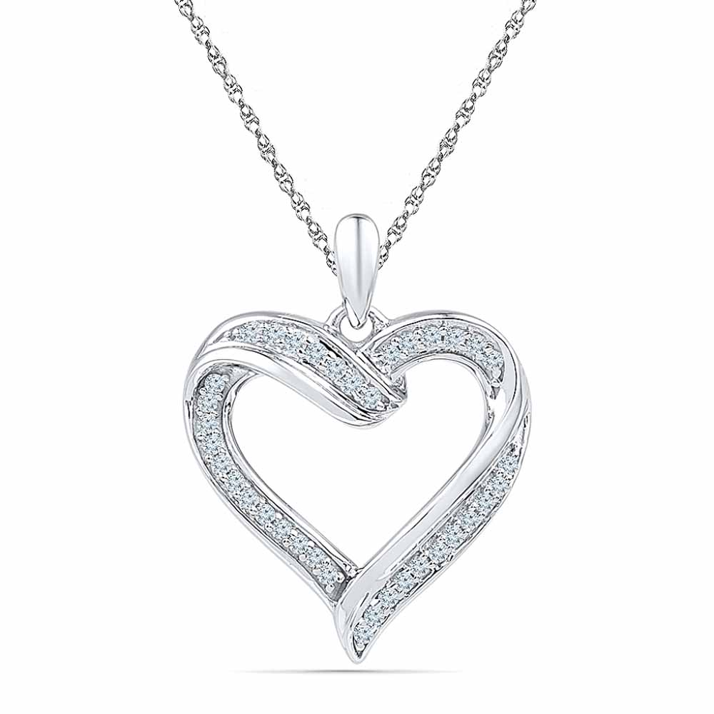 Special Sweet Heart Diamond Pendant