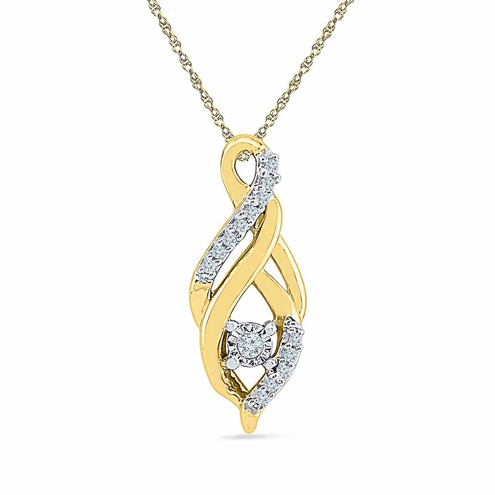 0.05 Carat Diamond Pendant