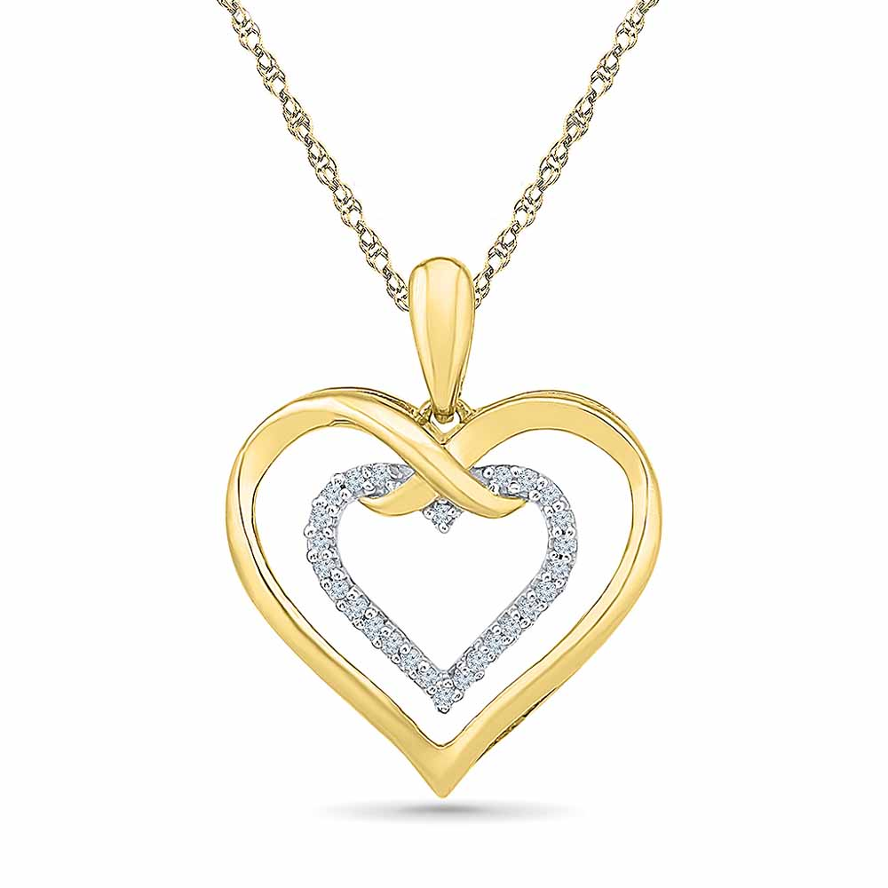 Love You Diamond Pendant
