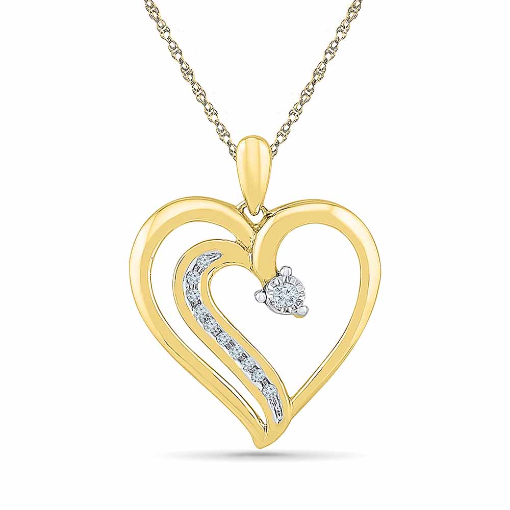 Love Bugs Diamond Pendant