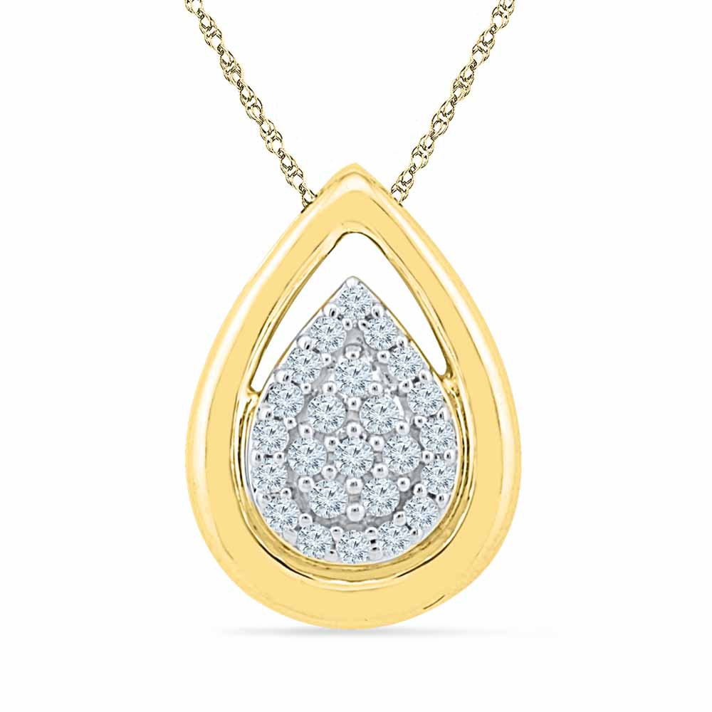 Shiney Diamond Pendant