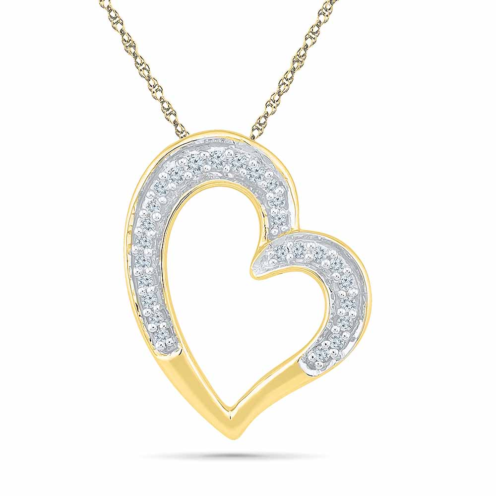 Magic Of Love Diamond Pendent