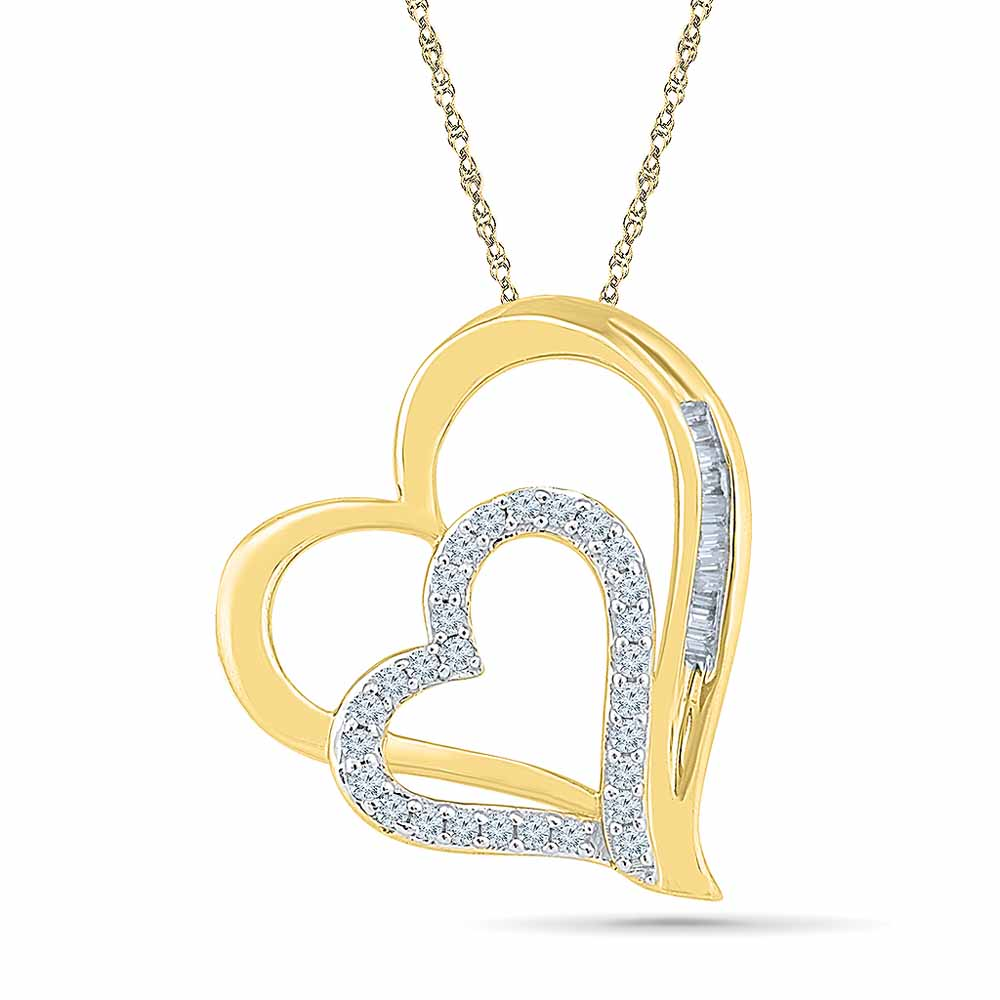 Sweet Heart Diamond Pendant