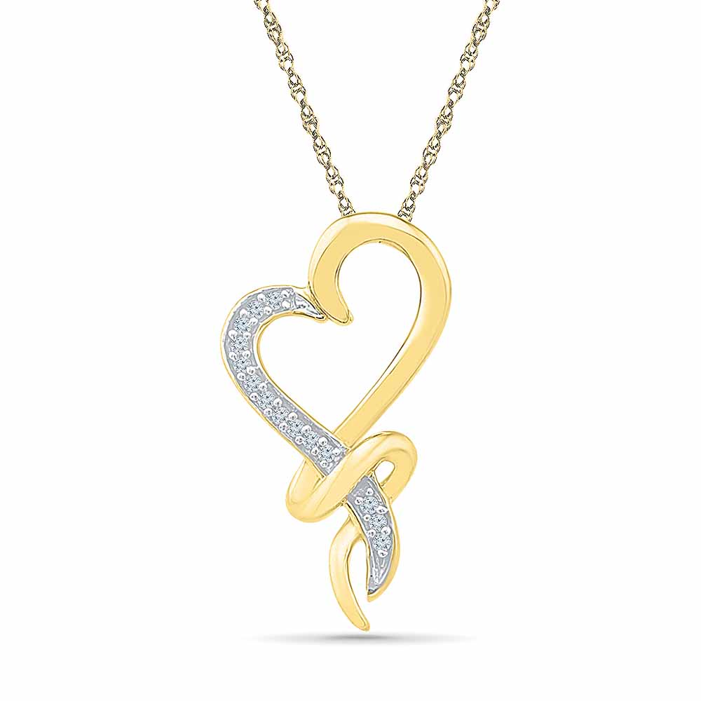 Iam In Love Diamond Pendant
