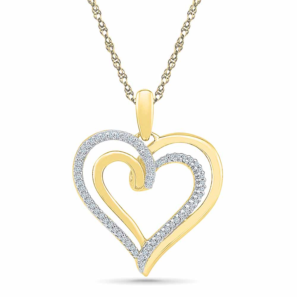 Angel Of My Heart Diamond Pendant