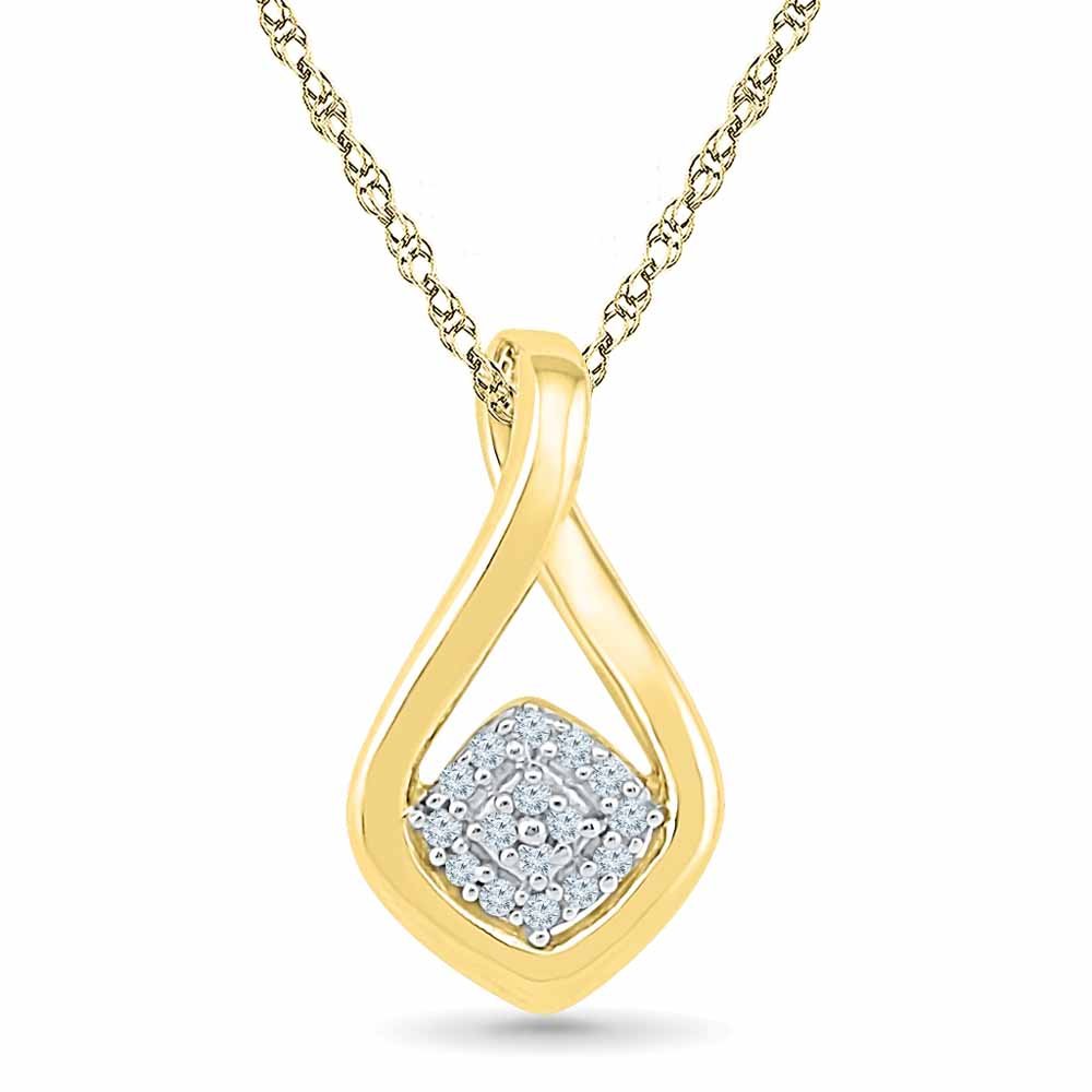 Autumn Diamond Pendant