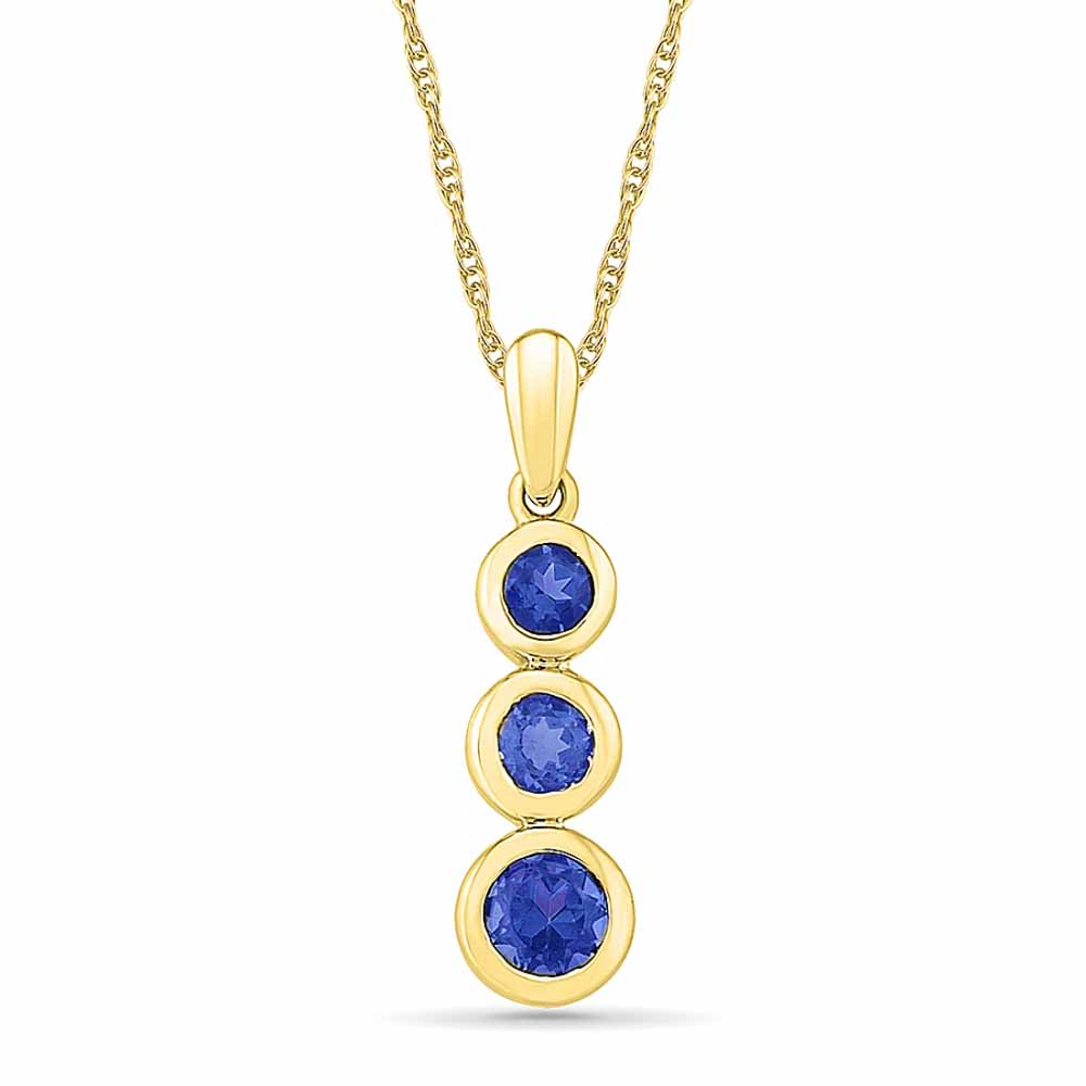 Incredible Blue Sapphire Pendant