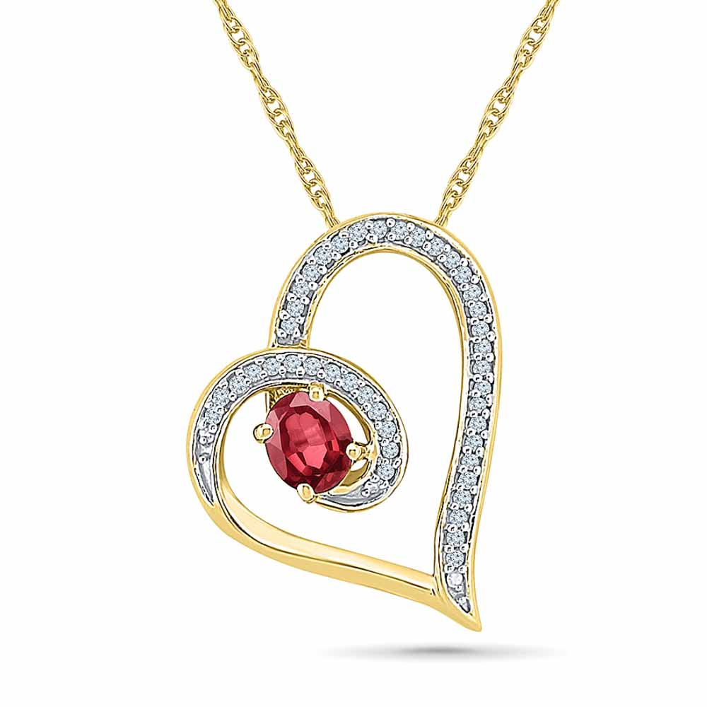 Gorgeous Ruby Pendant