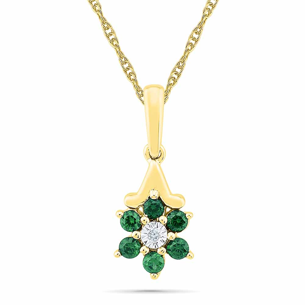 Mellow Emerald Pendant