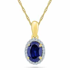 Diamond Pendants-18Kt 1.49 Grams Gold & Diamond Pendant