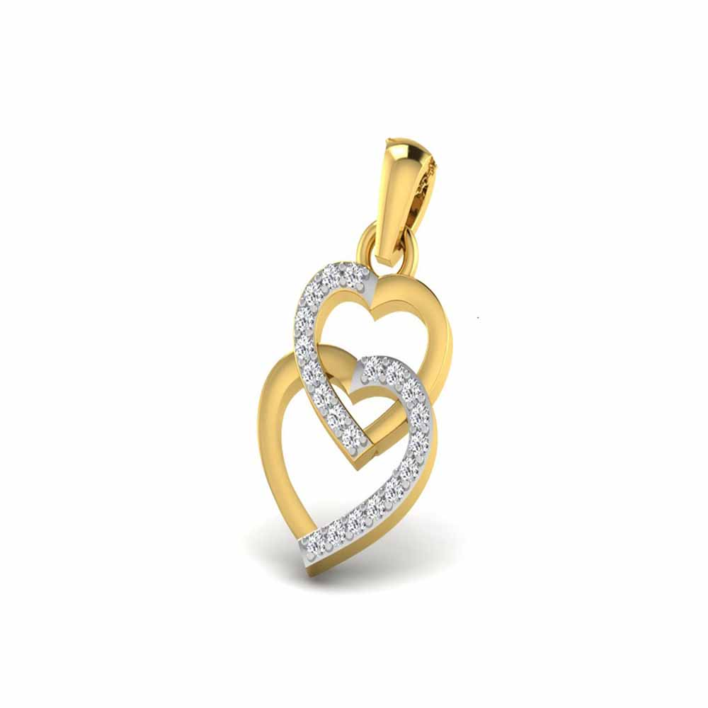 Santo Heart Diamond Pendant