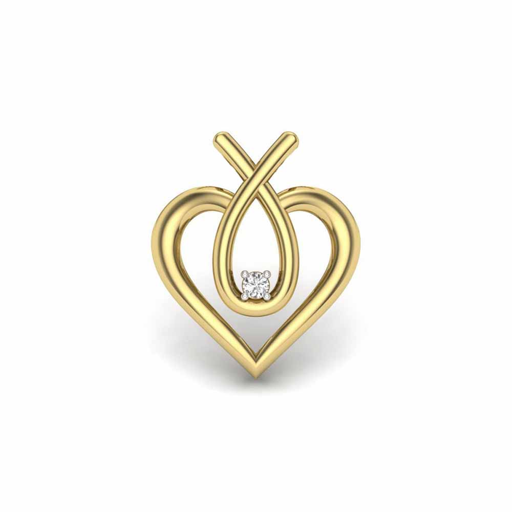 Murphy Heart Diamond Pendant