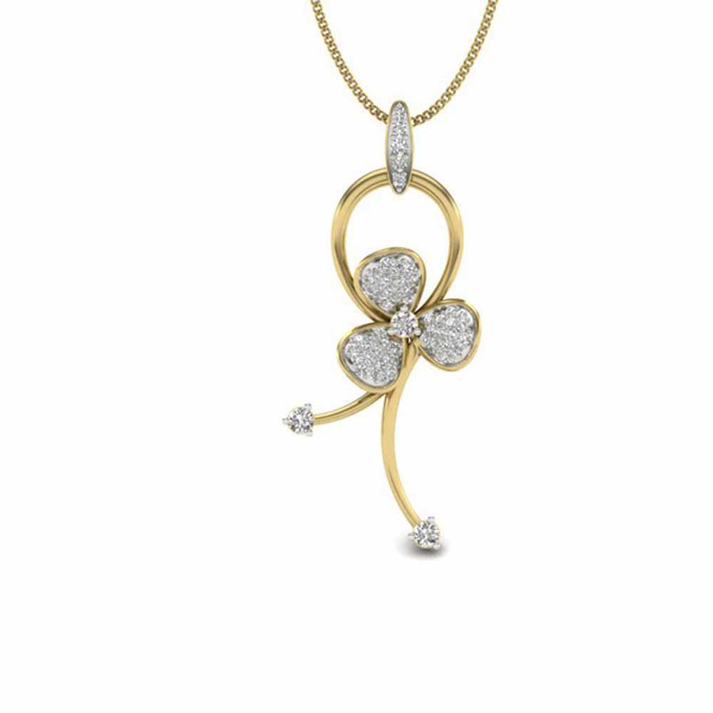 Diamond Pendants-Latina Diamond Pendant