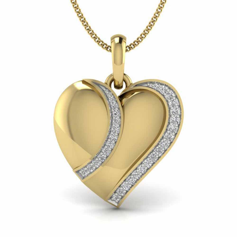 Nasha Heart Diamond Pendant