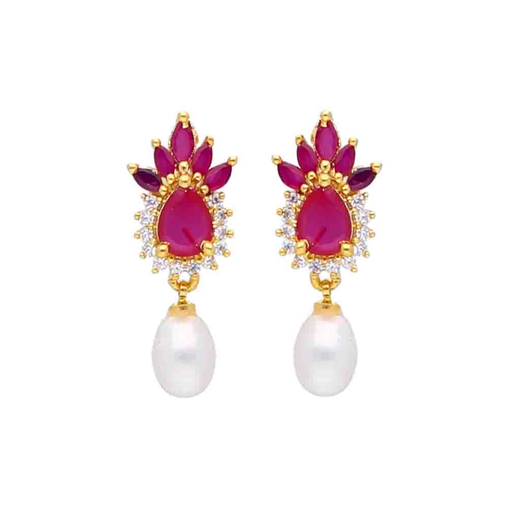Sparkle Pearl Earrings