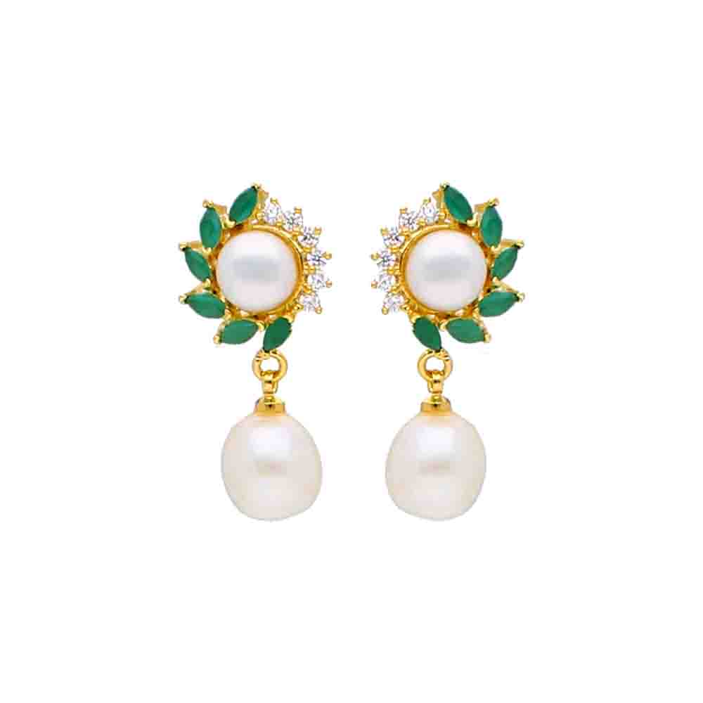 Ruhi Pearl Earrings