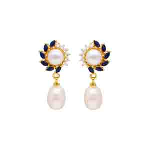 Pearl Earrings-Aleeza Pearl Earrings