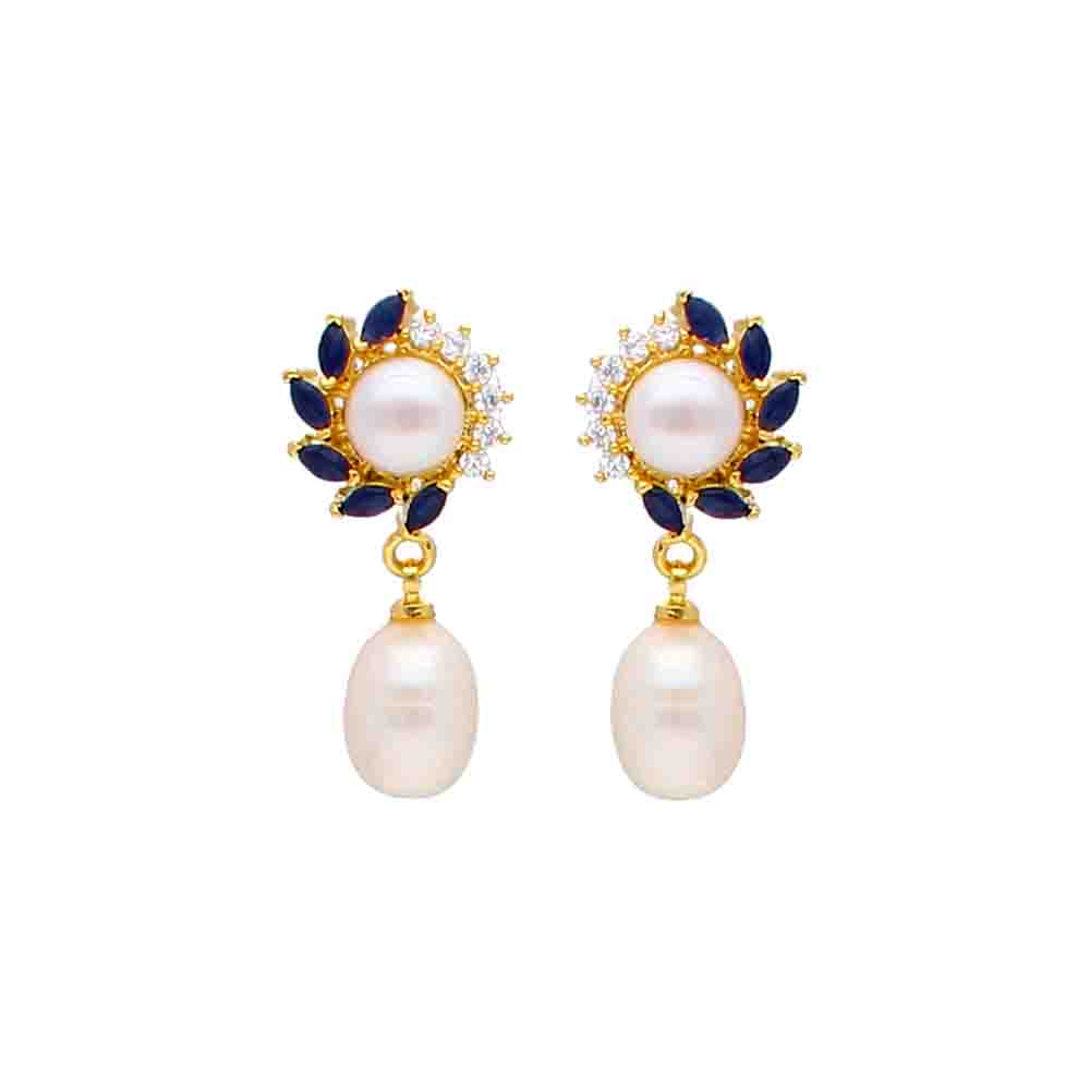 Aleeza Pearl Earrings
