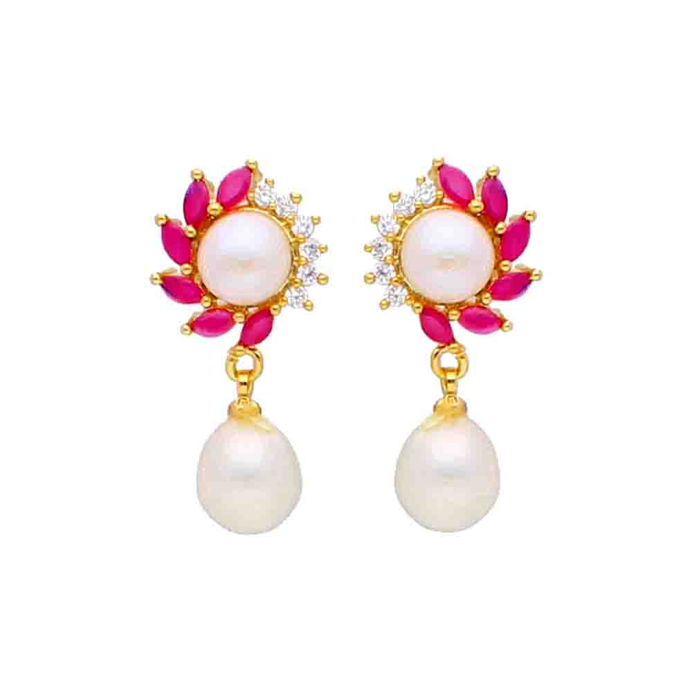 Mahika Pearl Earrings