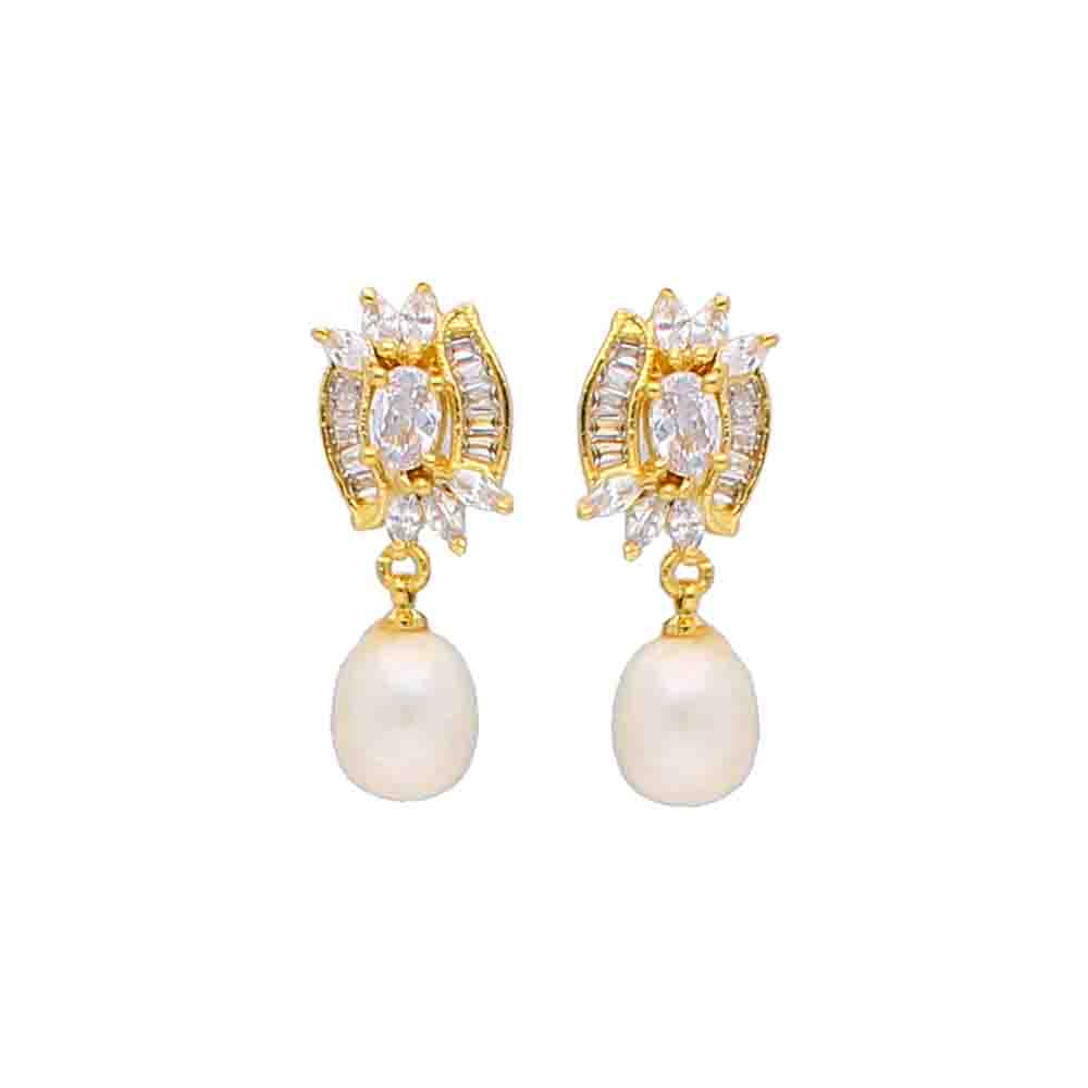 Tiya Pearl Earrings