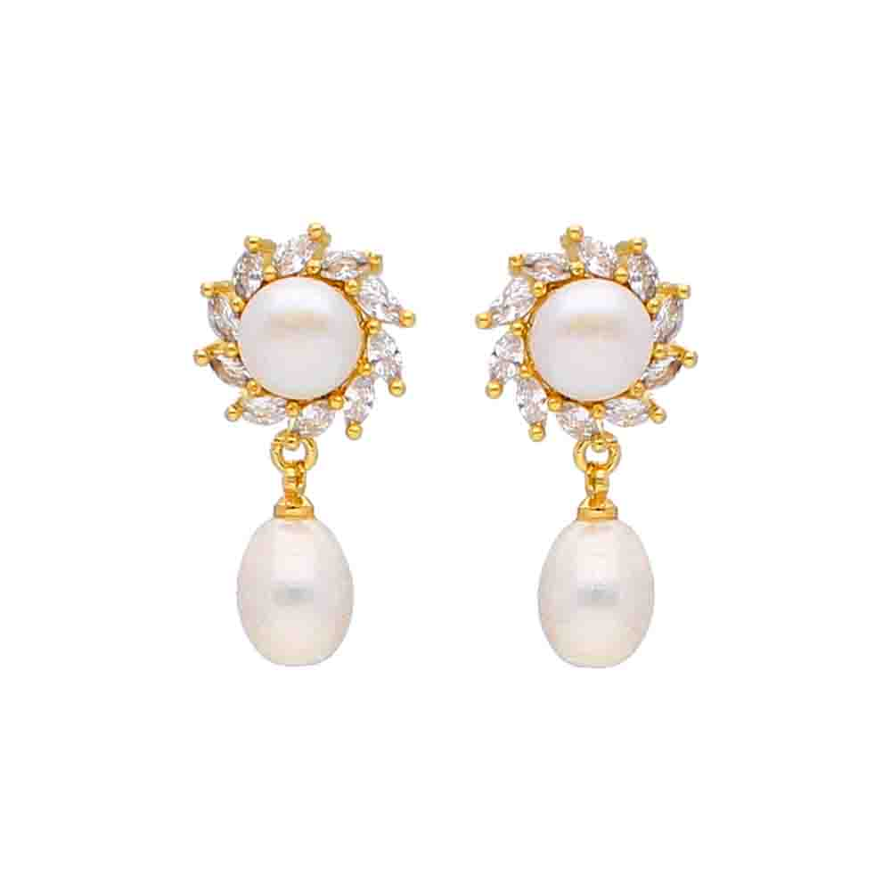 Shine Pearl Earrings