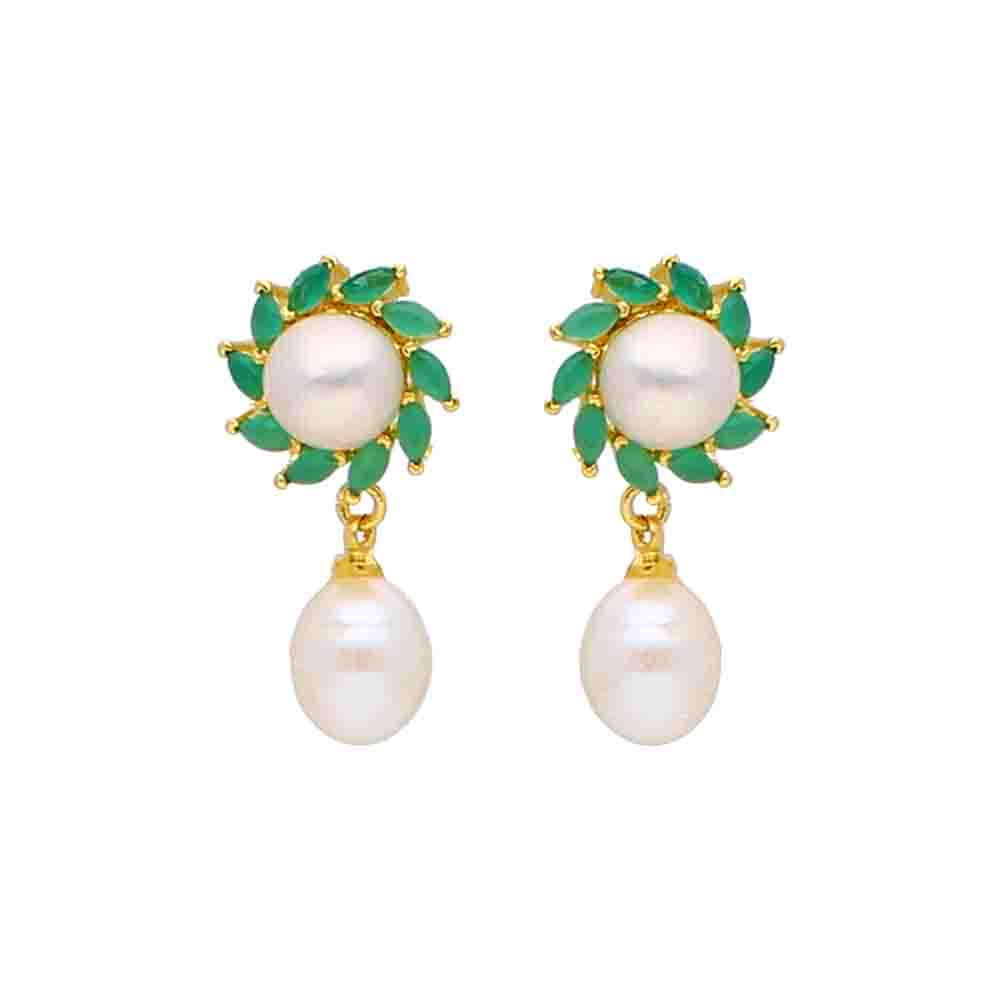 Richa Pearl Earrings
