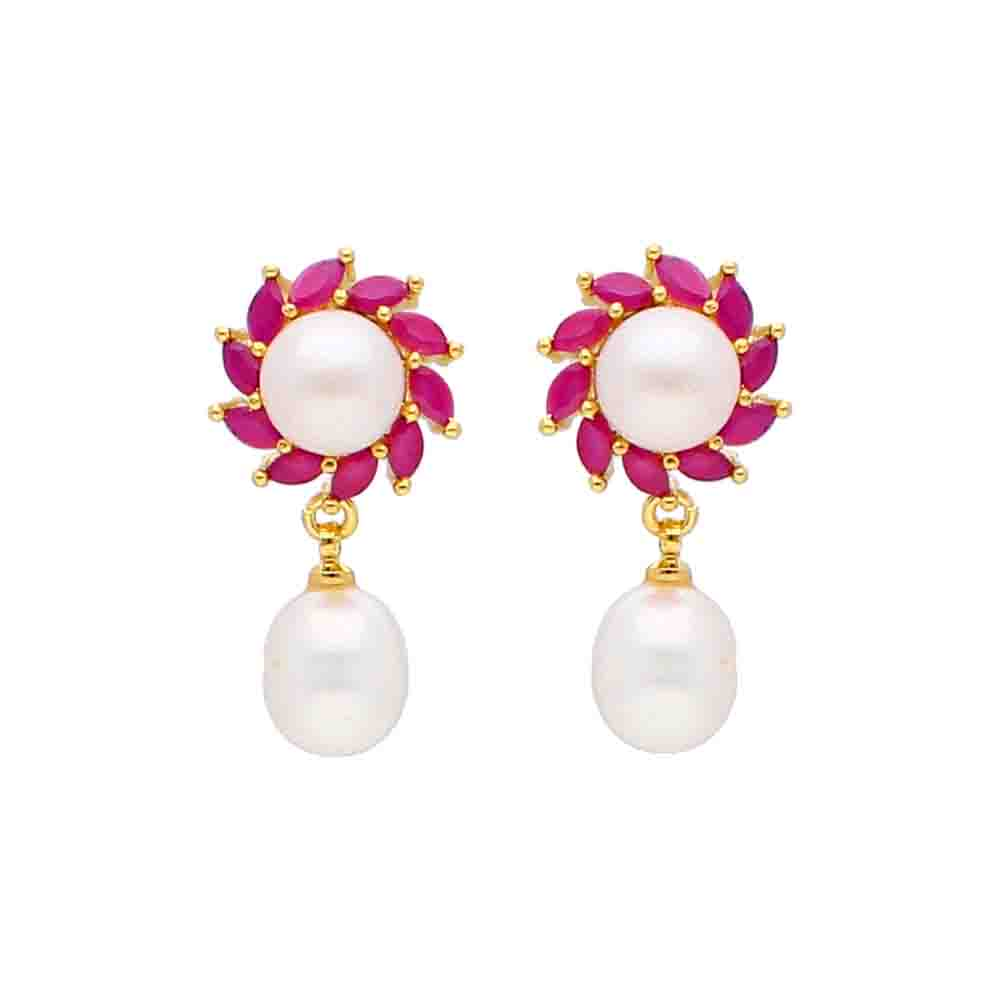 Dhriti Pearl Earrings