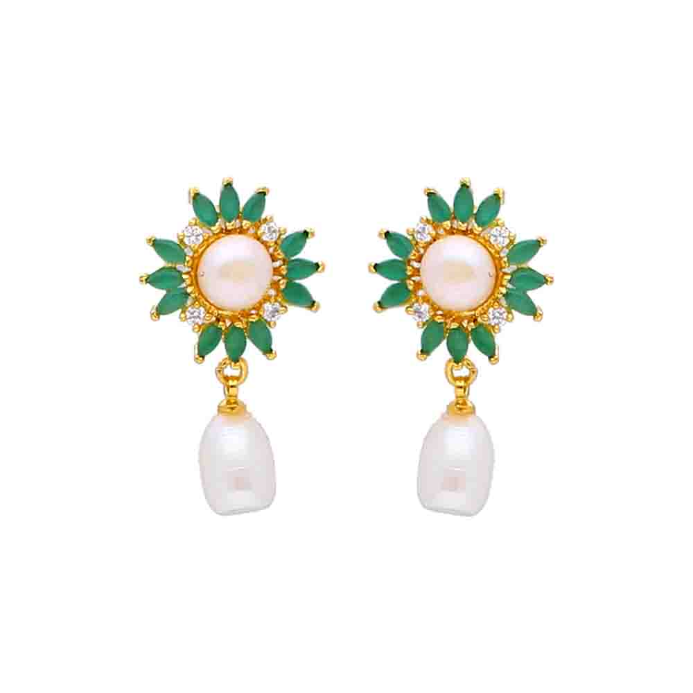 Pearl Earrings-Latika Pearl Earrings