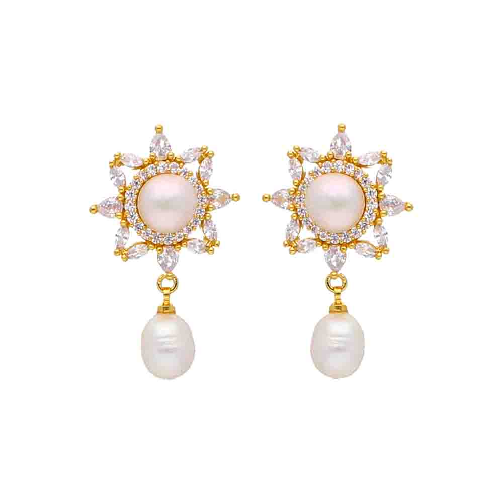 Ferna Pearl Earrings
