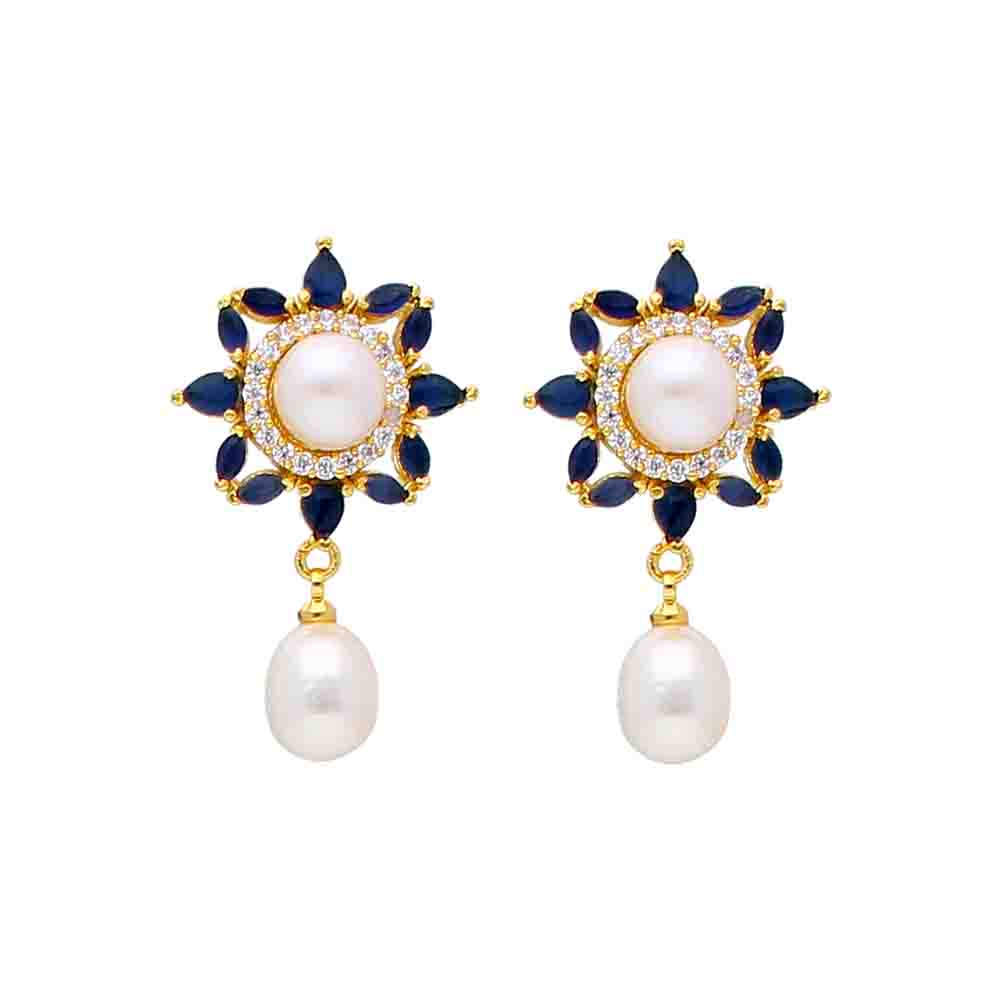 Graceful Pearl Earrings
