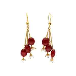 Gold Earrings-22kt 916 Gold Earrings