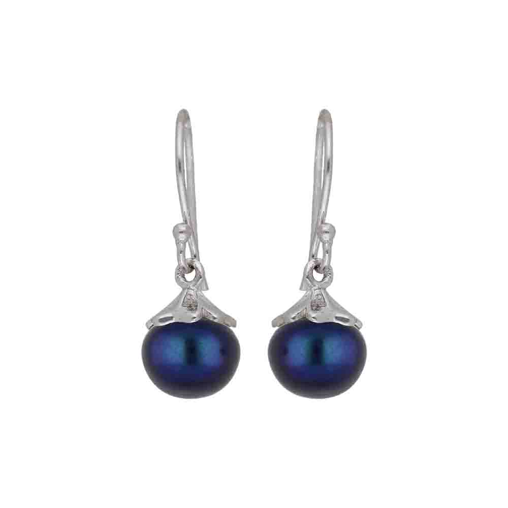 Viva 925 Sterling Silver Pearl Earrings