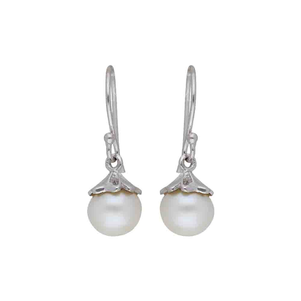 Jokia 925 Sterling Silver Pearl Earrings