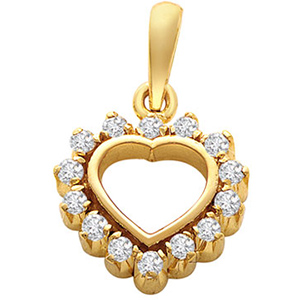 Eternal Heart Diamond Pendant