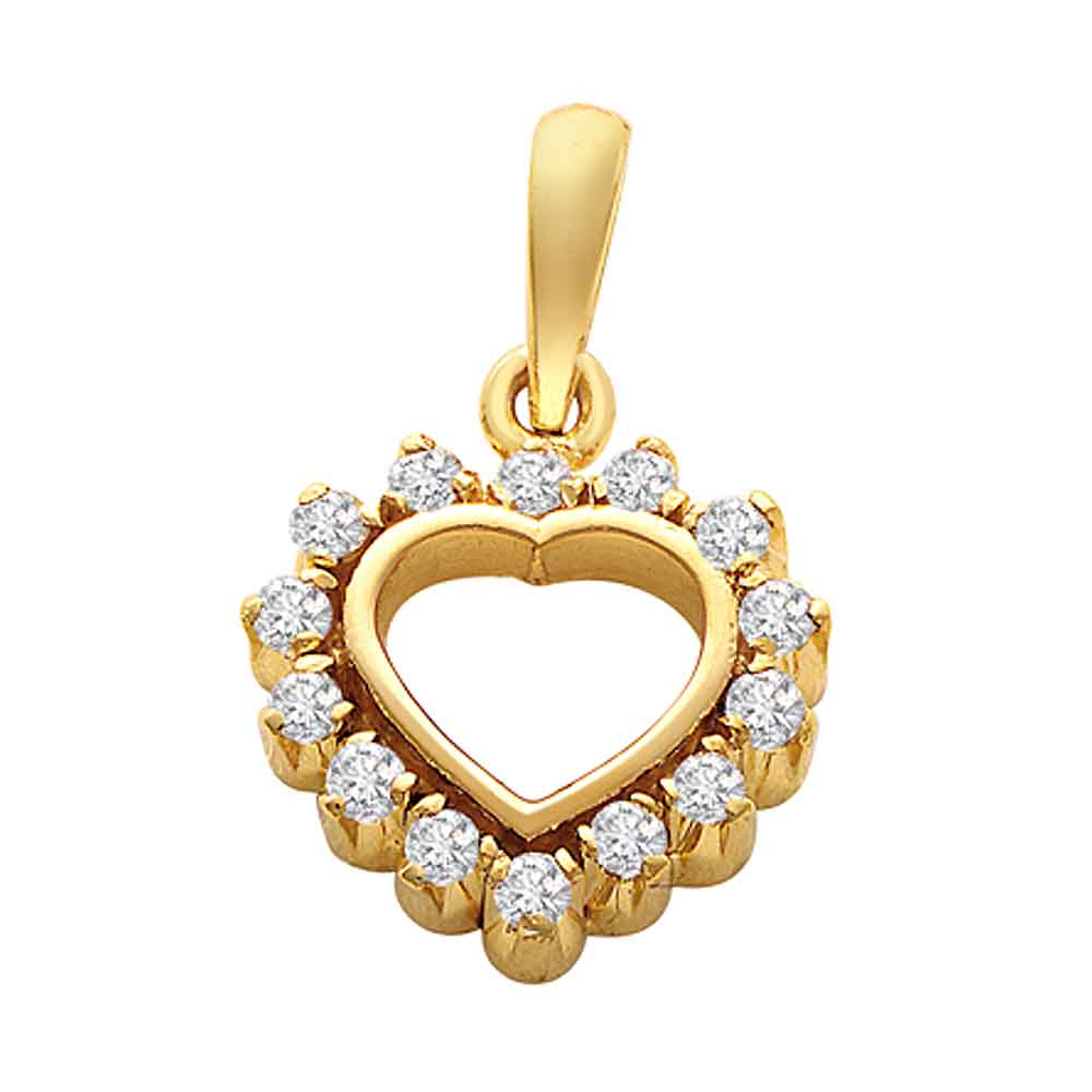Heart Collection-Eternal Heart Diamond Pendant