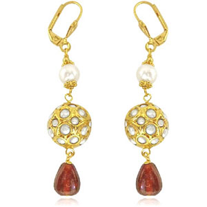Traditonal Kundan Earrings