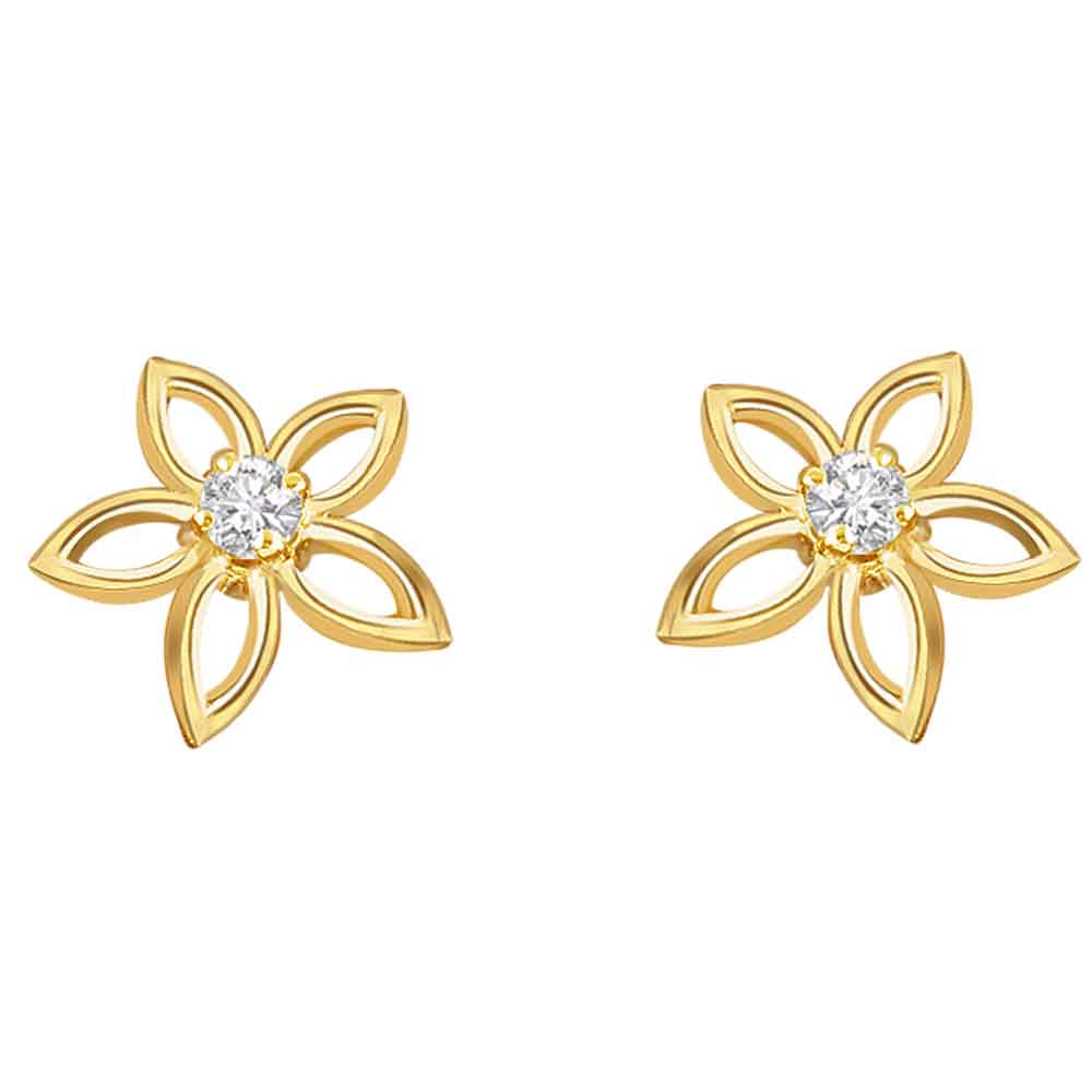 Diamond Earrings-Clove Earrings