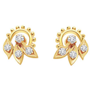 Diamond Earrings-Earrings Sunidhi