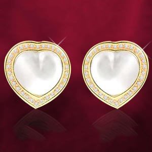 Heart Collection-Mabe Earrings
