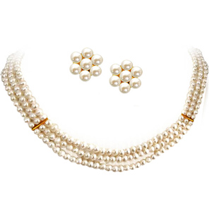 Pearl Sets-Pearl Necklace Set