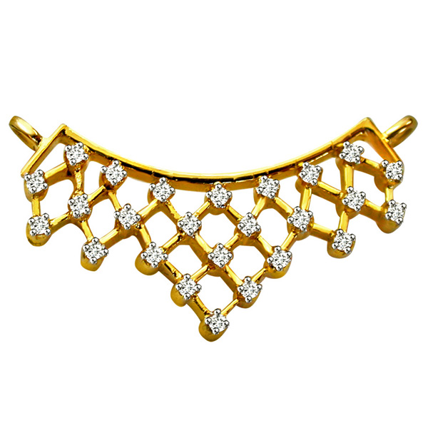 Diamond Studded Necklace Pendant