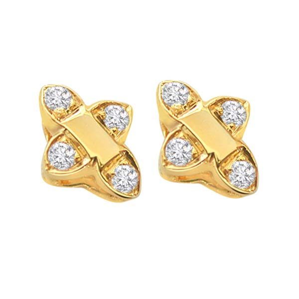 Diamond Earrings-Diamond Earrings
