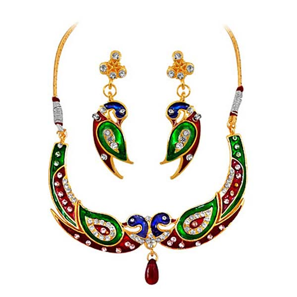 Precious Stone Sets-Necklace Set