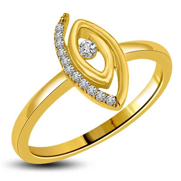 Diamond-Gold & Diamond Designor Ring